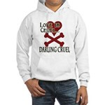 Love is Cruel Hooded Sweatshirt