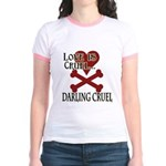 Love is Cruel Jr. Ringer T-Shirt