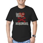 Love is Cruel Men's Fitted T-Shirt (dark)