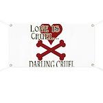 Love is Cruel Banner