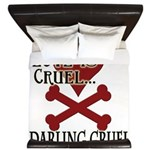 Love is Cruel King Duvet