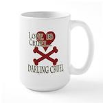 Love is Cruel Large Mug