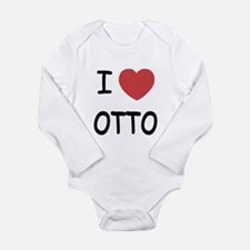 I heart OTTO Long Sleeve Infant Bodysuit