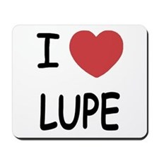 I heart LUPE Mousepad