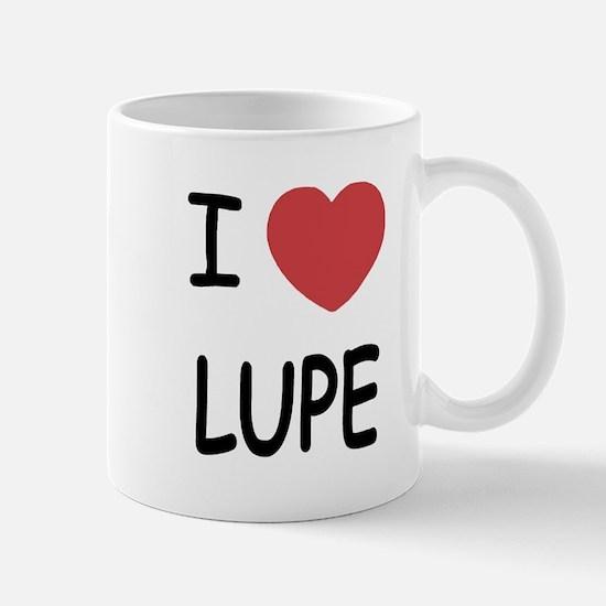 I heart LUPE Mug