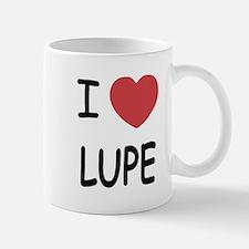 I heart LUPE Small Small Mug