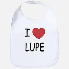 I heart LUPE Bib