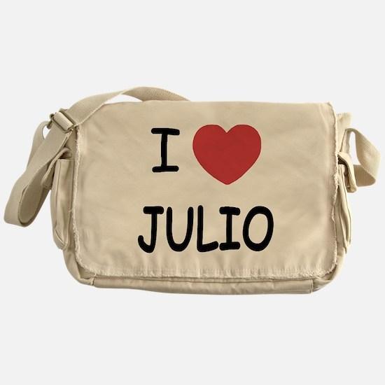 I heart JULIO Messenger Bag