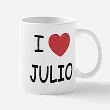 I heart JULIO Small Small Mug