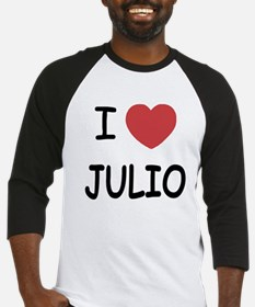 I heart JULIO Baseball Jersey