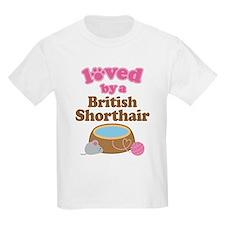 Loved By British Shorthair Cat T-Shirt