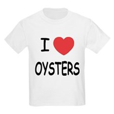 I heart oysters T-Shirt