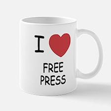 I heart free press Mug