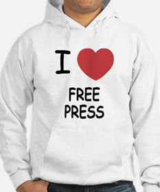 I heart free press Hoodie