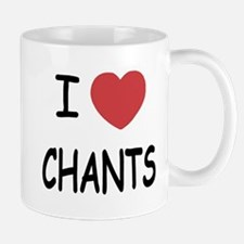 I heart chants Mug