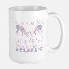 GIRL DEER HUNTER Large Mug