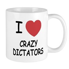 I heart crazy dictators Mug