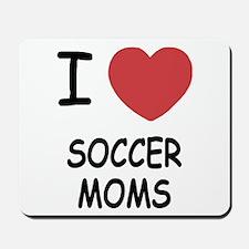 I heart soccer moms Mousepad