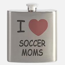 I heart soccer moms Flask
