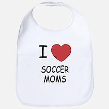 I heart soccer moms Bib