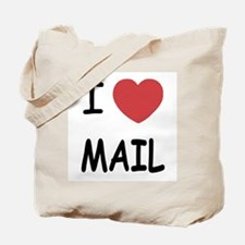 I heart mail Tote Bag