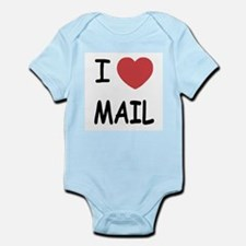 I heart mail Infant Bodysuit