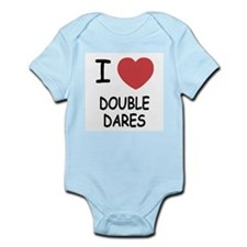 I heart double dares Infant Bodysuit