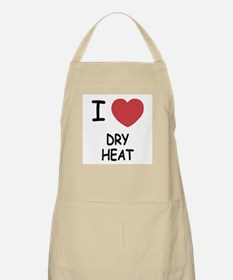 I heart dry heat Apron
