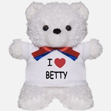 I heart BETTY Teddy Bear