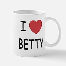I heart BETTY Mug