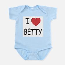 I heart BETTY Infant Bodysuit
