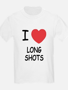 I heart long shots T-Shirt