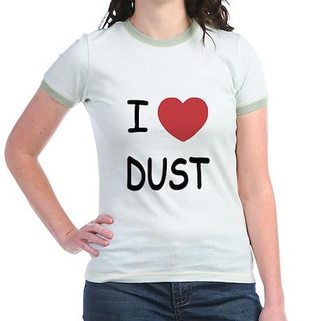 I heart dust Jr. Ringer T-Shirt