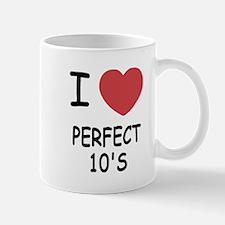 I heart perfect tens Mug