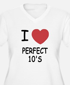 I heart perfect tens T-Shirt