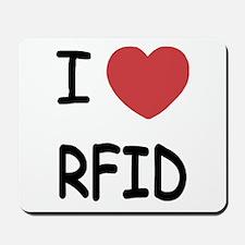 I heart rfid Mousepad