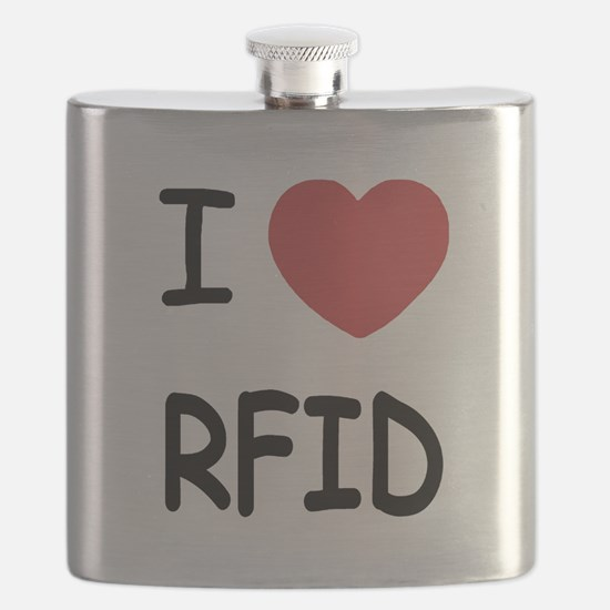 I heart rfid Flask