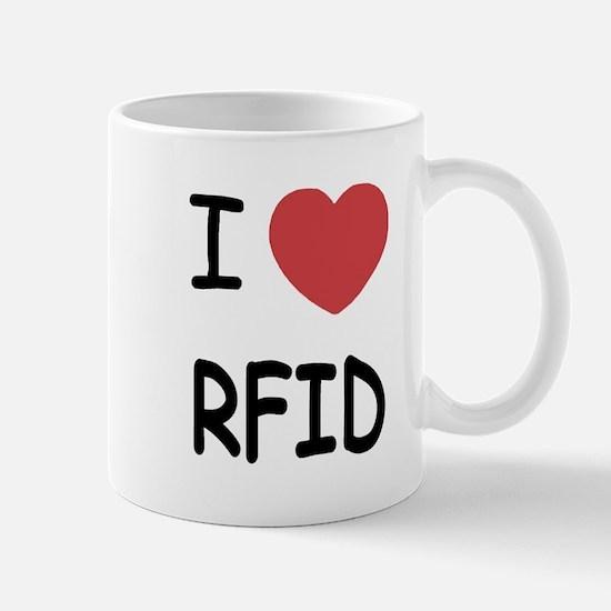 I heart rfid Mug