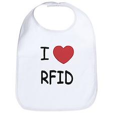 I heart rfid Bib