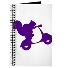 Purple Squirrel on Scooter Journal