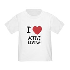 I heart active living T