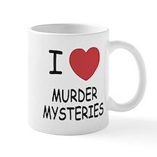 I heart murder mysteries Mug