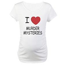 I heart murder mysteries Shirt