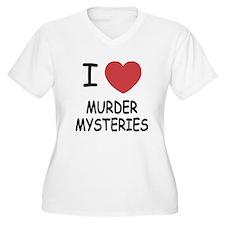 I heart murder mysteries T-Shirt