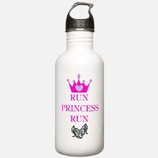 Run Princess Run Water Bottle