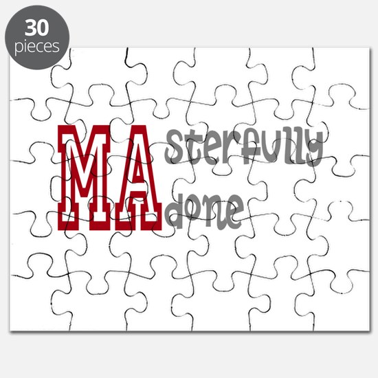 Masterfully Done Puzzle