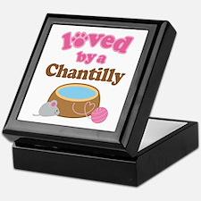Loved By Chantilly Cat Keepsake Box