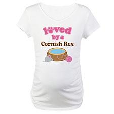 Loved By Cornish Rex Cat Shirt