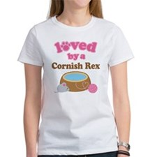 Loved By Cornish Rex Cat Tee