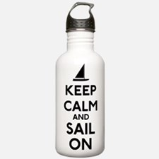 Keep Calm And Sail On Water Bottle
